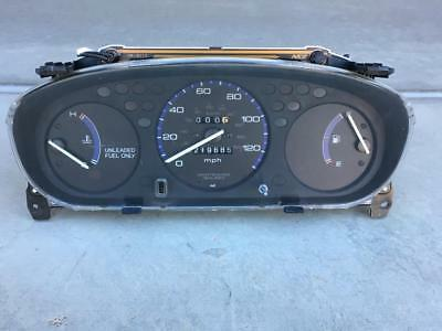 OEM 96-00 HONDA Civic Manual Instrument Gauge Cluster 190k Miles RPM on