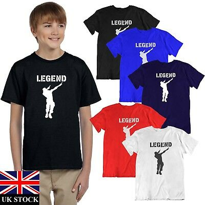 BOYS  TSHIRT  TOP MENS TAKE THE  L  T-Shirt Gamer PS4 XBOX FORT BATTLE  L1 COL
