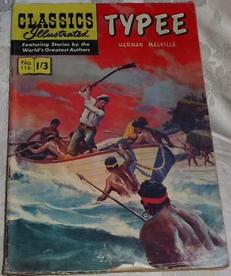 Classics Illustrated No.116 Typee see both images