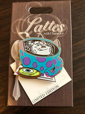 Disney Trading Pin Latte Lattes With Character Series Mike Sulley September 2018