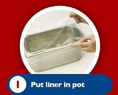 Bain marie Pot liners Easy bags Catering Mobile Food ....Ideal for events !!!!!!