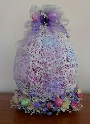 Easter/ Egg/ Table/ Decoration/ /Craft/ DIY/ Pattern/ Idea/ Decor/ Decoration