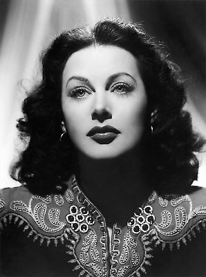Hedy Lamarr Real Beauty 8X10 And Great Actress