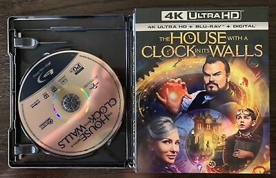 The House with a Clock in its Walls Blu-Ray - No Digital or 4K - UNWATCHED