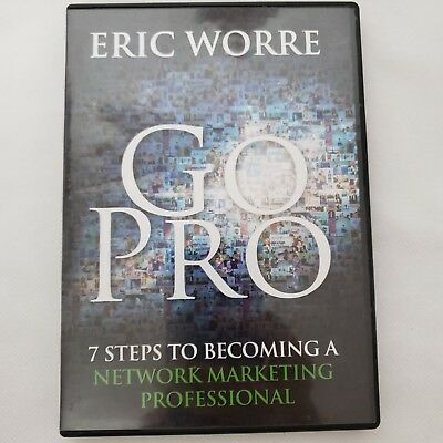 3 CD Set Eric Worre Go Pro 7 Steps to Becoming a Network Marketing Professional