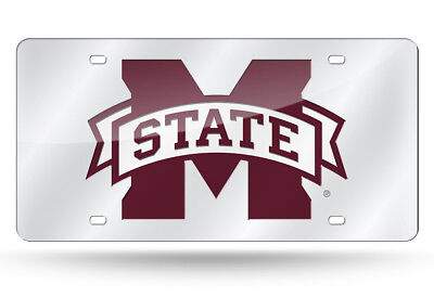 Mississippi State Bulldogs Mirror Car Tag License Plate Sign Truck Car Auto