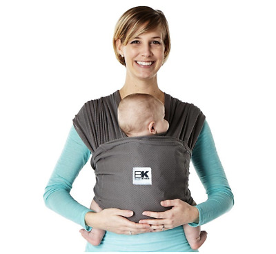 Baby K'tan Breeze Mesh Wrap Baby Carrier, Charcoal, Black, or Teal