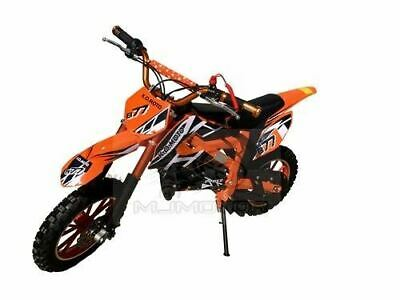49Cc Mini Motor Dirt Bike Kids Pocket Rocket Pee Wee Motorcycle Atv 50Cc Orange
