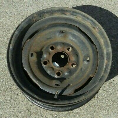 SPYDER MOTOR WHEELS 14X6 5 Bolt Circle Chevrolet Impala Truck