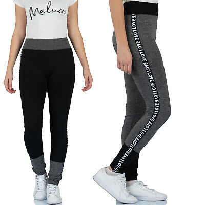 fa81feca318037 MALUCAS SPORTS Damen Leggings Leggins Jeggings Jeggins Yoga Gym Sport  Laufhose