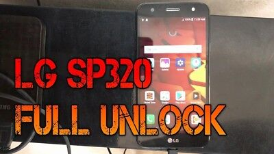 Unlock LG SP320 X Charge Sprint, Boost Mobile, Virgin Mobile