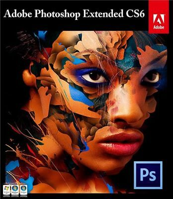 Adobe Photoshop CS6 Extended Portable Software Windows 100% GUARANTEED TO WORK