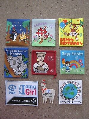 SALE Girl Guides Australia BADGE LOT, collectible, swapping