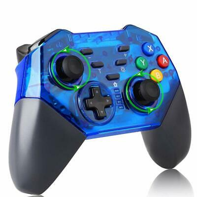 Wireless Pro Controller Gamepad Joypad Joystick Remote for Nintendo Switch Blue