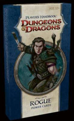 WOTC D&D Power Cards Player's Handbook - Rogue Box VG+
