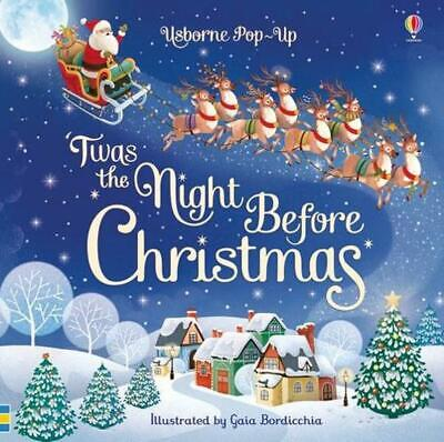 Pop-up 'twas the Night Before Christmas by Susanna Davidson Board Books Book Fre