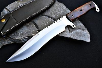 Custom Handmade BOWIE KNIFE Tactical Spec OPS Hunting Camping 10'' BY RCF