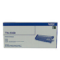 Brother TN-2350 Toner Cartridge Genuine - 2,600 pages (TN-2350)