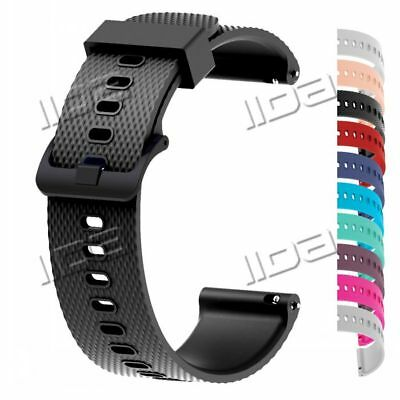 Silicone Replacement Wrist Band Strap For Garmin Vivoactive 3 Vivomove HR 20mm
