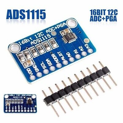 ADS1115 AD-Wandler ADC 4 Kanal Channel 16 Bit I2C Arduino Raspberry digital