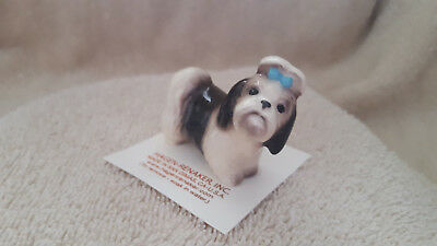 Hagen Renaker Dog Shih Tzu Figurine Miniature Collect New Free Shipping 02076