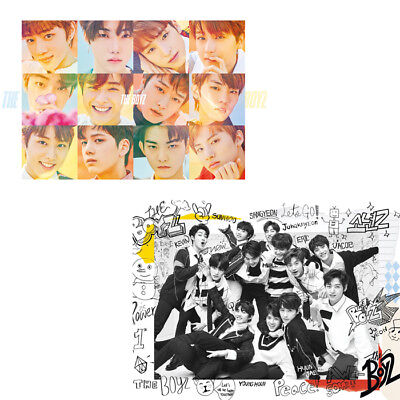 THE BOYZ [THE FIRST] 1st Mini Album 2Ver SET 2CD+2Photo Book+30p Card+2p Sticker