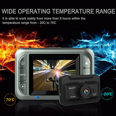 1080p HD Car DVR Dashboard Camera Recorder with Night Vision 2'' Touch Screen