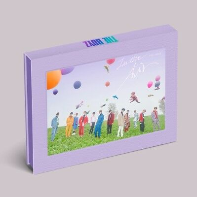 THE BOYZ [THE ONLY] 3rd Mini Album IN THE AIR CD+P.Book+Card+Film+Sticker SEALED