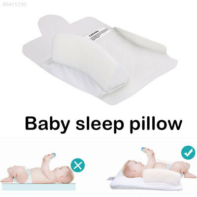 96DF Cotton Baby Shaping Pillow Toddler White Infant Shaping Pillow Friendly