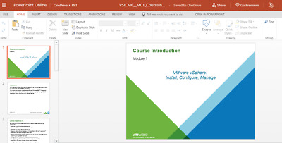 Official VMware / vSphere 6 (VCP6-DCV) instructor slides PPT editable Course