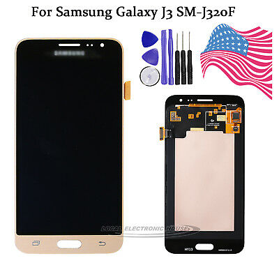 LCD Display For Samsung Galaxy J3 2016 SM-J320FN Gold Touch Screen Digitizer