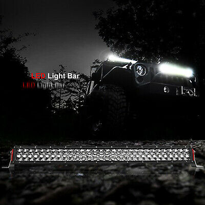 "22inch LED Light Bar Spot Flood Offroad Driving Lamp Work 4x4 Truck SUV 20"" 23"""
