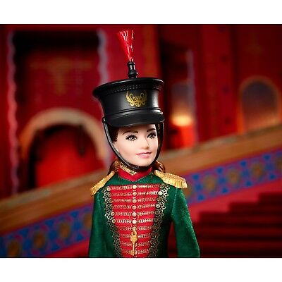 Barbie The Nutcracker And The Four Realms Clara's Soldier Uniform Doll New!
