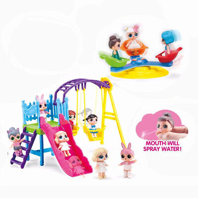 3PCS Fashion L.O.L Surprise Doll Park Game Playset Kids Girls Funny Toy Gifts