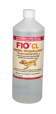 F10 CL Reptile Disinfectant 1 Litre Concentrate Terrariums Cleaner