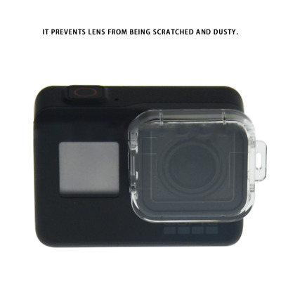 Protection Plastic Transparent Lens Filter Cap Cover For Gopro Hero 5 Camera