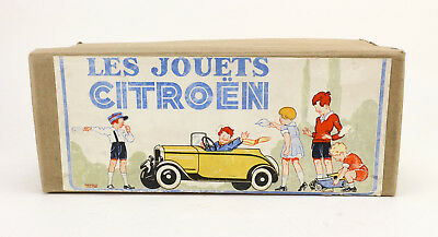Jouets Citroen Berline Grand Tourisme 60 B Boite Leerbox 30's Empty Box Original