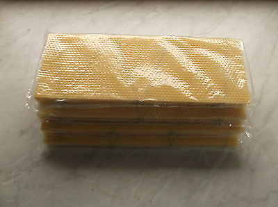 100  National Bee Hive super wired  Foundation Wax