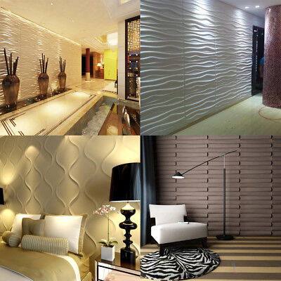 Bamboo 3D Natural Wall Panel Decorative Wall Ceiling Tiles Cladding Wallpaper