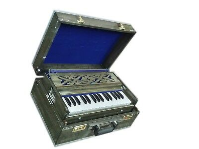 HARMONIUM~2¾ OCTAVES~4 STOPS~FOLDING~DOUBLE REEDS~440Hz~MINI~BHAJAN~KIRTAN~CHANT