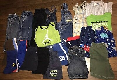 Baby Boys Winter Spring Clothes Sz 12-18 Months Lot Of 20 Levis Jordan