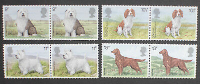 GB 1979 Dogs Complete Set (SG1075-1078) MNH.