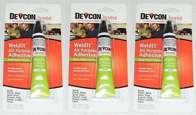 Glues, Epoxies & Cements Business & Industrial Devcon 18245 Home Weldit All Purpose Adhesive 1 Oz High Strength Adhesive