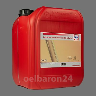 20 Liter Kanister Oest Bio Synthetik HYD 46 Biohydrauliköl Hees 46 HLP