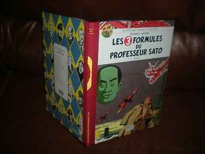 Blake Et Mortimer 3 Formules Sato 1 - Collection Luxe Dos Toiles 2007 Le Monde