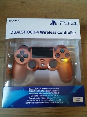 Dualshock 4 SONY PlayStation 4 Copper - wireless controller PS4 - DS4