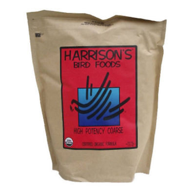1 x Harrisons HIGH POTENCY COARSE 454g 1lb Bird Parrot Food African Grey Macaw