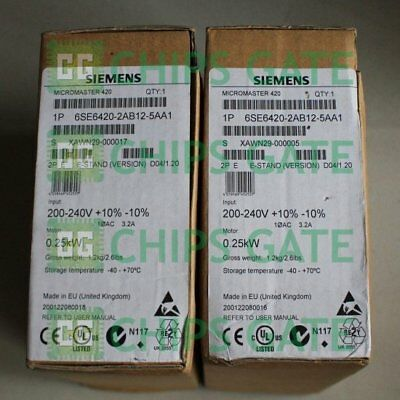 1PCS used Siemens inverter 6SE6420-2AB12-5AA1 Tested in Good condition