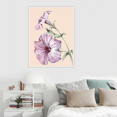 Morning Glory Canvas Art Painting Poster Picture Home Rome Wall Decor Unframed