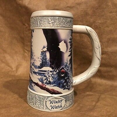 Miller Brewing Company ~ Winter Watch Beer Mug ~ Collectors Stein with Box